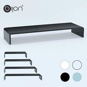 photos of Bijon® TV Glasaufsatz Monitor Erhöhung (B/T/H) 900x300x130mm   Schwarz Sonderangebote Kaufen   model Furniture