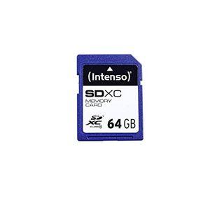 photos of Intenso SDXC 64GB Class 10 Speicherkarte Blau Best Buy Kaufen   model Computer & Zubehör