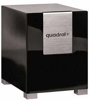 deals for - quadral qube 8 aktiv schwarz aktiver subwoofer