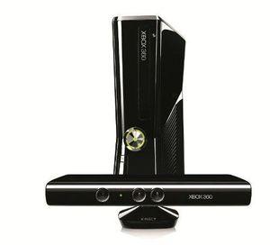 xbox 360 konsole slim 250 gb inkl kinect sensor kinect adventures schwarz glänzend
