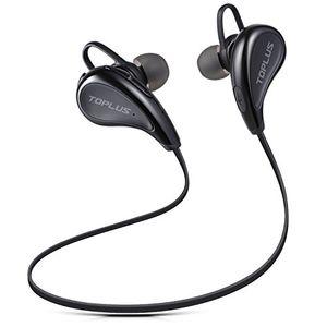 photos of Sport Kopfhörer Bluetooth In Ear Kopfhörer, TOPLUS In Ear Hifi Stereo Bluetooth Ohrhörer Inklusive Mikrofon Für IOS  Und Android Smartphones Usw (Schwarz) Mit Rabatt Kaufen   model CE