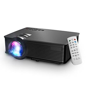 Top lcd beamer projektor mpow lcd projector 1200 lumen led mini beamer projektor home cinema tragbare multimedia heimkino mit usb sd hdmi vga für video game movie hinterhof kino