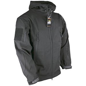 kombat uk patriot herren softshelljacke schwarz m