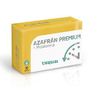 Top AZAFRAN + MELATONINA Premium. Complemento alimenticio que mejora el estado de ánimo, digestivo, retrasa envejecimiento y antioxidante. Remedio natural para nerviosismo, estrés y ansiedad. Mejor oferta