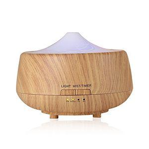 ofertas para - aroma diffuser iwo 250ml holzmaserung luftbefeuchter mit farbenwechselnde elektrisch duftlampe
