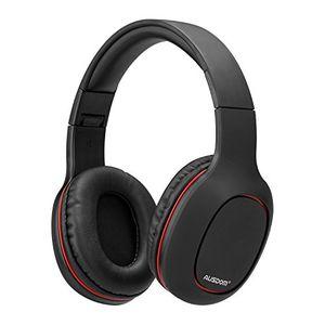 bluetooth kopfhörer ausdom wireless faltbar over ear hifi stereo headset mit built in mikrofon unterstützt freisprechen weich memory protein ohrenschützer integriertes mikrofon für handy tv pc laptop schwarz