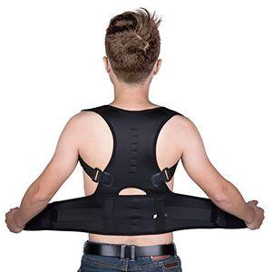 Yokamira Corrector de Postura, Corrector de Postura de Espalda y Hombro Ajustable y Acolchonado Para Hombres y Mujeres, Apoyo Espalda Cuello Dolor de Hombro Alivio – Corrige la Mala Postura – M opinión