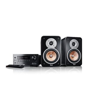 teufel kombo 42 bt schwarz regal lautsprecher sound bassreflex 2 wege hifi hochtöner lautsprecher high end hifi speaker lautsprecher