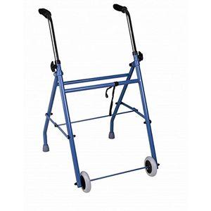 ofertas para - andador caminador de adultos de acero plegable con dos ruedas