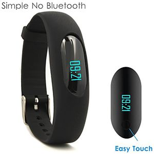Angebote für -yamay fitness armband schrittzähler armbanduhr aktivitätstracker ohne bluetooth mit zeitdtumschrittzählerkalorienzählerentfernungsrechnerschlafmonitor für damen kinder herren ohne app handy