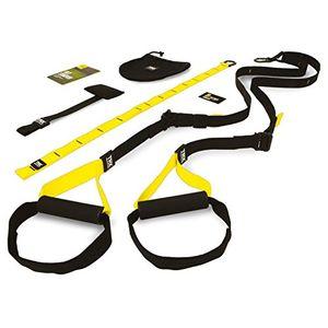 Inicio Trx TF00314 Suspension Trainer Home Juego de accesorios para entrenamiento de suspensión, color amarillo antes de compra