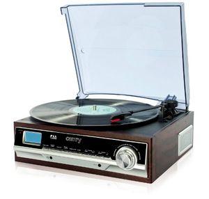 Angebote für -plattenspieler schallplattenspieler pll radio retro holz nostalgie musikanlage aux in uhr mit wecker sleep timer integrierte lautsprecher 3 wiedergabefunktionen 334575