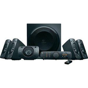 Angebote für -logitech z906 3d stereo lautsprecher thx dolby 51 surround sound und 500watt schwarz