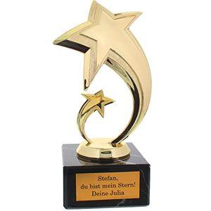 historia die persönliche star award statue mit gravur als individuelle geschenkidee