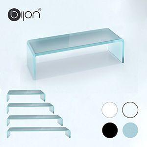 Buy glasshop24 bijon® tv glasaufsatz monitor erhöhung bth 550x250x110mm satin