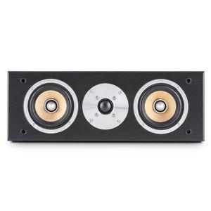 auna linie 501cs bk 60w black loudspeakerloudspeakers 2 way 20channels wired terminal 60w black
