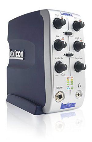photos of Lexicon Lambda Studio USB Audioschnittstelle (UK Import) Pro Cons Kaufen   model Musical Instruments