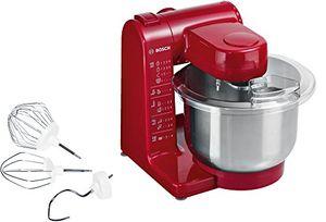 Bosch MUM44R1 - Robot de cocina, 500 W, capacidad 3,9 l, color rojo ofertas Especiales