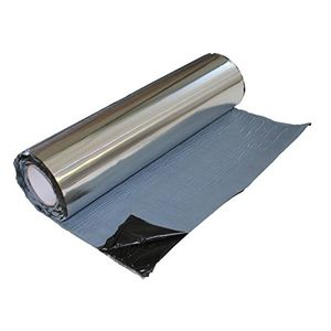 deals for - alubutyl dämmmatte 2m² 50x400cm anti bass dröhn matte car hifi alu butyl