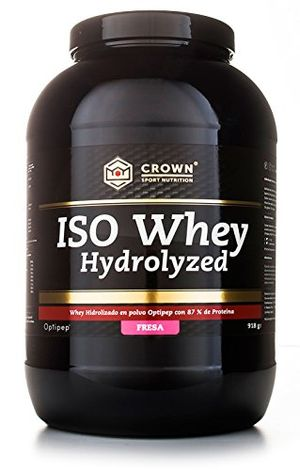 Top Crown Sport Nutrition ISO Whey Hydrolyzed Proteína de Suero de Leche, Suplemento para Deportistas, Sabor de Fresa - 918 gr ofertas de hoy