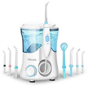 Cheap Irrigadores Dentales Irrigador Oral Profesional Capacidad de 600ml con 8 Boquillas YOHOOLYO comparación