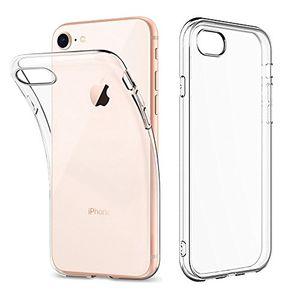 Hot hülle für iphone 8 iphone 7 hinuor iphone 7 8 handyhülle silikon durchsichtig crystal clear transparent dünn tpu case backcover schutzhülle für iphone7 iphone8