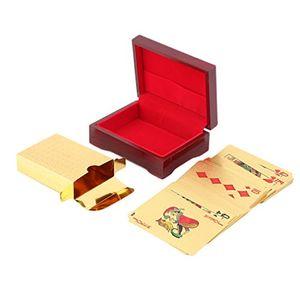 Top ytycjsfh spielkarten 24 karat vergoldet komplettes pokerdeck pure