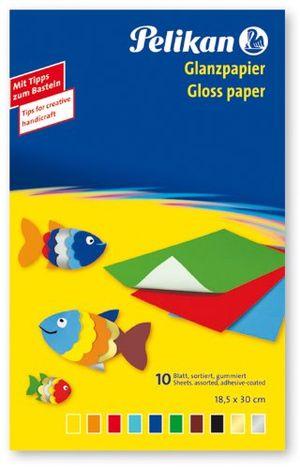 Angebote für -pelikan 137935 glanzpapier gummiert 10 blatt