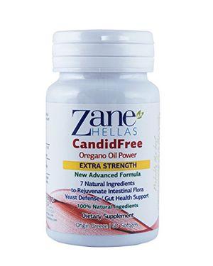 CANDIDA STOP de Zane Hellas - Solución de Candida de Fuerza Extra - 60 Softgels- Aceites de Hierba 100% Natural con Prebióticos y Probióticos Naturales ofertas Especiales