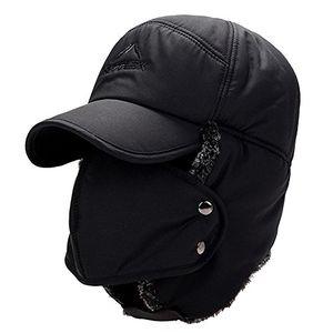 Angebote für -yooeen herren damen fliegermütze kunstfellmütze mit ohrenklappen ski outdoor sport wintermütze