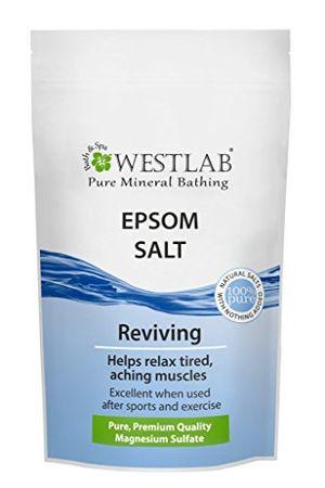 Review for Westlab Epsom sal 5kg día Ventajas Desventajas Padres