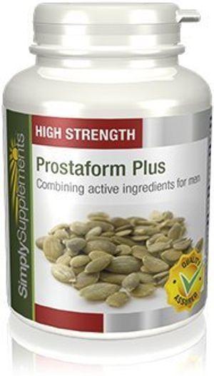 Calientes Prostaform plus - 180 cápsulas - Hasta 6 meses de suministro - Para la salud masculina y de la próstata - SimplySupplements comparación