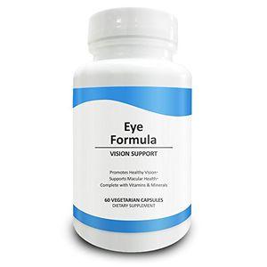Cheap Pure Science Fórmula ocular - Luteína y zeaxantina mejoradas con mezcla patentada de arándanos y vitaminas - Suplementos perfectos para apoyo ocular - 60 cápsulas vegetarianas - Más fáciles de tragar que las tabletas Guía