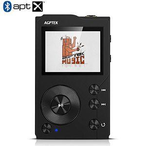 Angebote für -hifi bluetooth mp3 player tragbare musik player diktiergeräte lossless sound mp3 player mit 16g speicher karte unterstützt 256gb micro sd speicherkarte von agptek h3 schwarz
