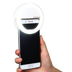 deals for - bidafun led strahler flash selfie licht ring kamera foto video licht lampe handy