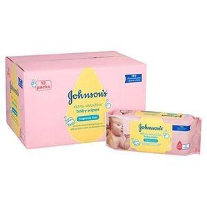 Hot Bebé de Johnson extra Toallitas Sensible 12 x 56 por paquete guía del comprador