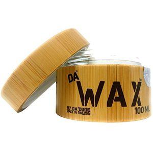 ofertas para - dadude dawax cera para el pelo cera de peinado muy fuerte acabado mate el mejor producto de peluquería profesional tina de madera y bolsa de regalo 100 ml