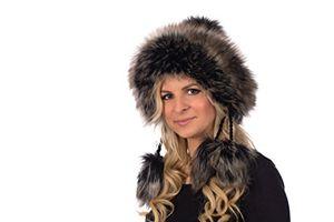 deals for - tatra mütze t 149 mütze mit fleecefutter pudelmütze wintermütze mit fellbommeln aus fellimitat