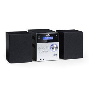 Angebote für -auna mc 20 dab • micro stereoanlage • mini stereoanlage • hifi stereoanlage • digitaler dab tuner • analoger ukw pll tuner • ausgangsleistung 2x 5 watt • bluetooth • lcd display • silber