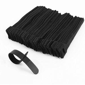 Angebote für -surepromise 100 schwarz kabel klettband kabelklett kabelbinder klettbinder klettverschluss büro