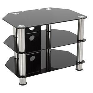 Angebote für -king fernsehständer aus schwarzem hochglanzglas geeignet für lcd led fernseher 20 40 80cm breit