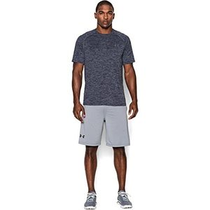 under armour ua tech ss tee herren fitness t shirts tanks blau academy xs