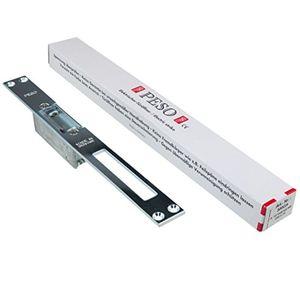 elektrischer türöffner peso 300 ga mit flachschließblech und entriegelungshebel 6 bis 12 volt acdc