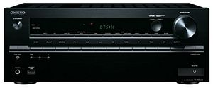 onkyo tx nr646 b 72 kanal netzwerk av receiver dts x fähig dolby atmos 160 watt wifi bluetooth airplay musikdienste dlna schwarz