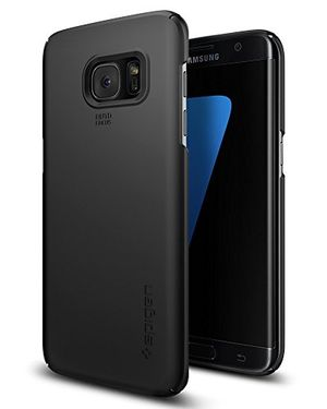 samsung galaxy s7 edge hülle spigen® thin fit passgenaues schwarz premium hart pc schale schlanke handyhülle schutzhülle für samsung galaxy s7 edge case samsung galaxy s7 edge cover samsung s7 edge case samsung s7 edge cover black 556cs20029