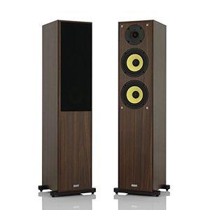 Angebote für -1 stück standlautsprecher mohr sl20 lautsprecherboxen nussbaum wavecor hochtöner kevlar tieftöner hifi standboxen