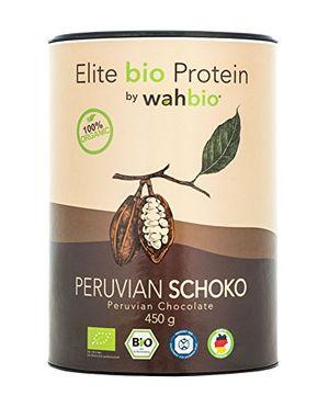 Angebote für -wahbio 100 bio protein geschmack schoko 4 komponenten bio protein pulver whey casein ei soja bio eiweiß pulver ohne zucker süßungsmittel zusatzstoffe aspartamfrei xanthanfrei