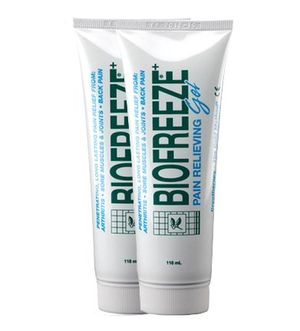 ofertas para - biofreeze set de 2 tubos de gel para aliviar el dolor muscular 118 ml