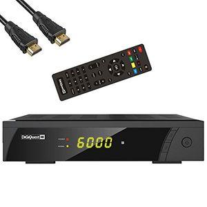 Angebote für -digiquest 8010hd digitaler full hd satellitenreceiver fta hdtv dvb s2 inkl hdmi kabel