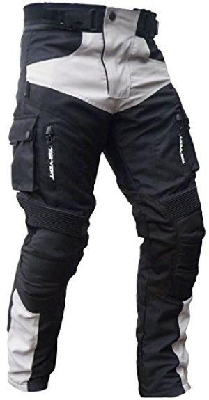 Angebote für -heyberry sportliche motorrad hose motorradhose schwarz grau gr l